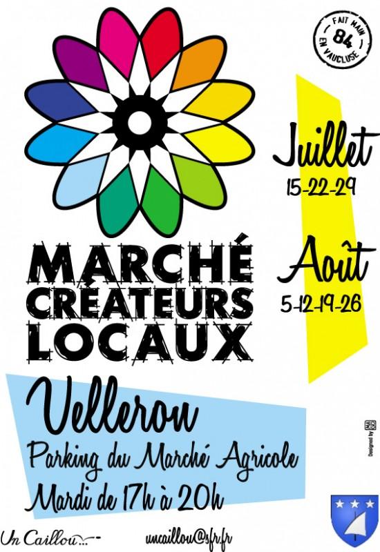 Affiche Marche-Velleron