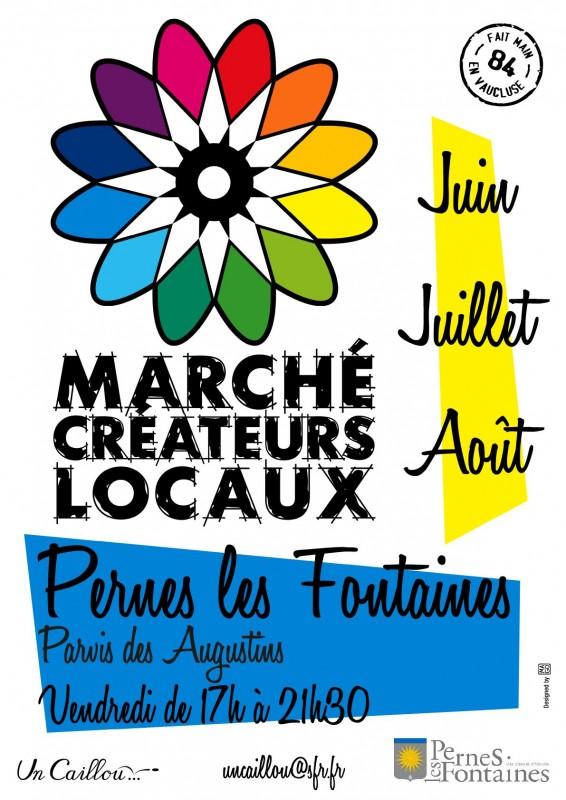 Affiche Marché Pernes